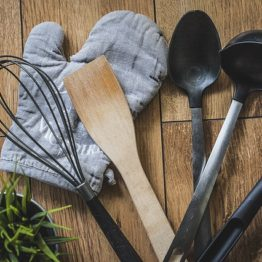 Поварские лопатки, ложки, вилки