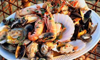 фото Антипасти из морепродуктов