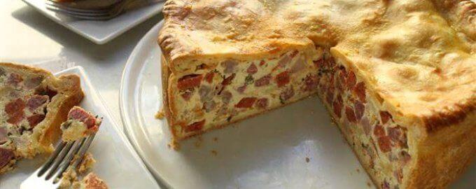 фото Пицца Рустика или Деревенская пицца
