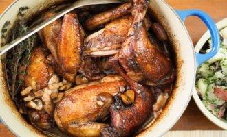 фото Цыплята приготовленные в уксусе