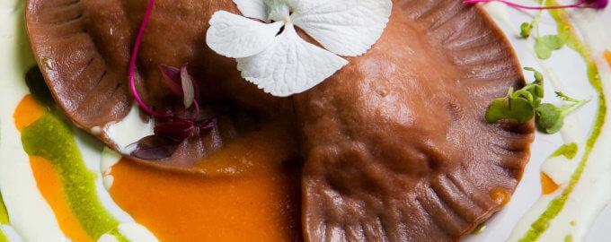фото равиоли из теста с какао