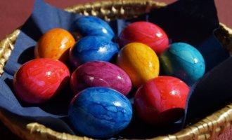фото яйца на Пасху