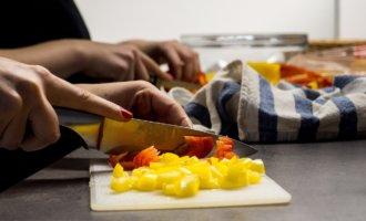 фото нарезка салата
